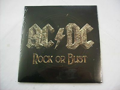 "Ac/dc - Rock Or Bust - 7"" Vinyl New Sealed 2014"