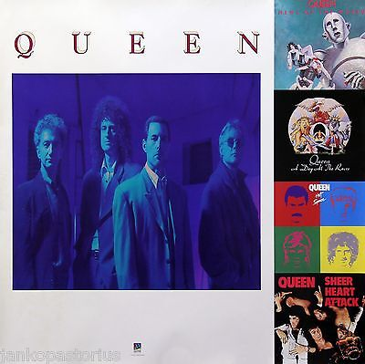 Queen 1991 Hollywood Records  Rare Promo Poster Original