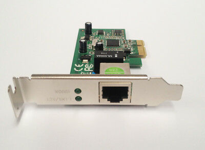 Gigabit 10/100/1000 Networking Ethernet Card PCI-Express with LP Low Profile NIC