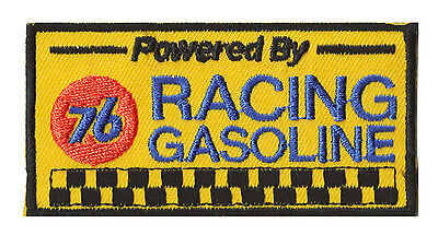 Ecusson patche 76 UNION racing gasoline thermocollant patch brodé