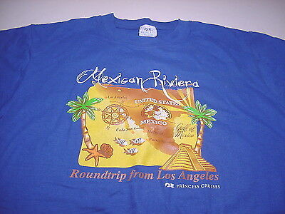 Princess Cruises MEXICAN RIVIERA Cabo Mazatlan Puerto Vallarta (MEDIUM) T-shirt