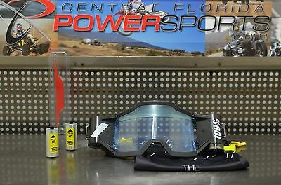 100% Goggles Forecast Advanced Mud Tear Off Roll Off System