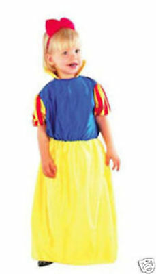 Girls Princess Storybook Fancy Dress Costume Age 2-4