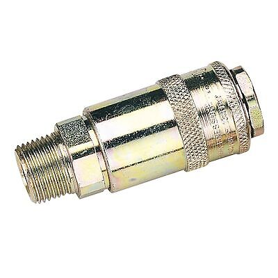 "Draper Tools 3/8"" Male Thread PCL Tapered Airflow Coupling (Sold Loose) - 37835"