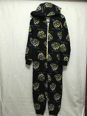 BNWT Boys/Girls Size 8 Official AFL Richmond Tigers Polar Fleece Onesie Suit