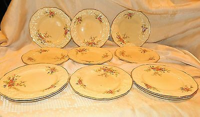 Crown Ducal Florentine Marie Eleven Side Plates