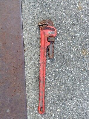"RIDGID Straight Pipe Wrench 24"" Cat. 31030 Steel"