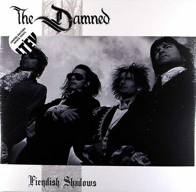 THE DAMNED 'Fiendish Shadows' 2 X WHITE VINYL LP -  NEW & SEALED