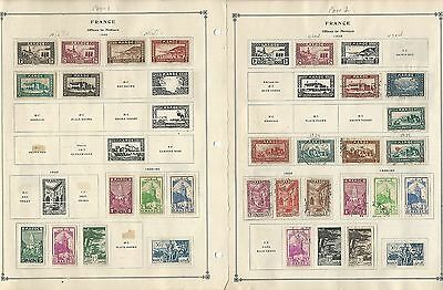 French & Spanish Morocco Collection 1891 to 1955 on Scott International Pages