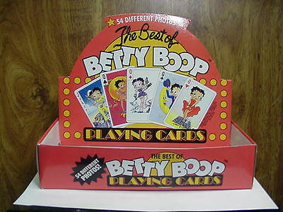 Betty Boop PLAYING CARDS (RETIRED ITEM)