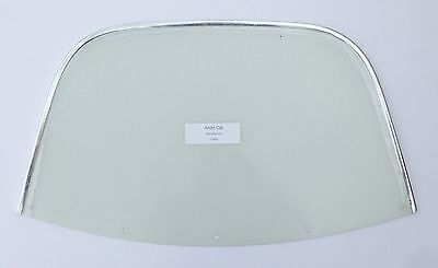 Windshield Arctic Cat 1968-69 Panther Cougar # 0116-033 Clear//Chrome trim
