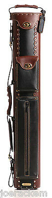 New Instroke 3x7 Inverted Leather Cowboy Case - Brown & Black - INSC37BRN/BK-RV