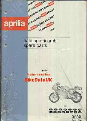NEW Aprilia RS50 (1999) Fully Illustrated Parts List Catalogue Book RS 50 Sports