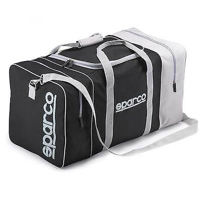 Sparco Trip 2 Race/Rally/Motorcycle Kit Bag/Travel Bag/Hold All - In Black/Grey