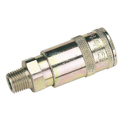 "Draper Tools 1/4"" BSP Taper Male Thread Vertex Air Coupling (Sold Loose) -"