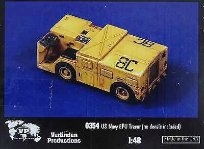 VERLINDEN PRODUCTIONS #0354 US Navy EPU Tractor Resin Kit in 1:48