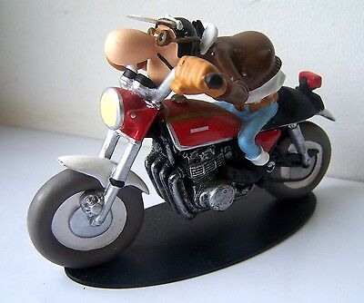 figurine joe bar team edouard bracame honda cb 750. Black Bedroom Furniture Sets. Home Design Ideas