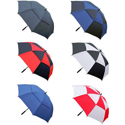 """Masters Golf TourDri Gust Resistant Umbrella 60"""" Canopy - All Colours rrp£25"""