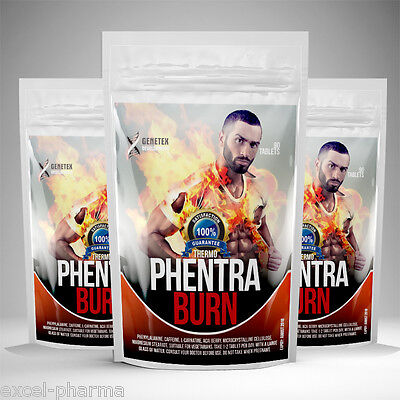 Extreme Fat Burner Phentraburn ✶ Weight Loss Tablets Diet Pill ✶ Pre Workout