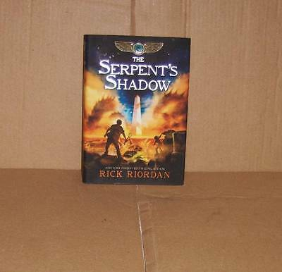 The Serpent's Shadow: Book 3 The Kane Chronicles ~ Rick Riordan ~ 1st Edition HB