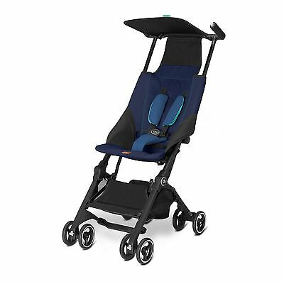 GB Pockit Stroller, Seaport Blue - 616230018