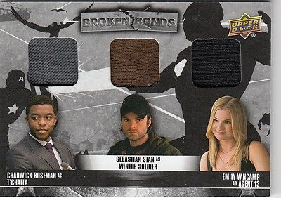 Captain America Civil War - Bb-Tjs Triple Broken Bonds Costume Card