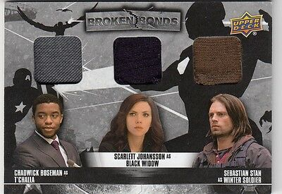 Captain America Civil War - Bb-Tbj Triple Broken Bonds Costume Card