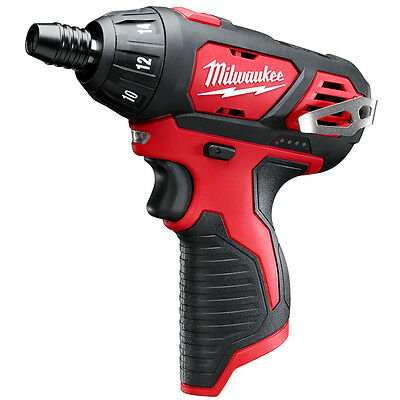 Milwaukee 2401-20 M12 12-Volt 1/4-Inch Hex Screwdriver - Bare Tool