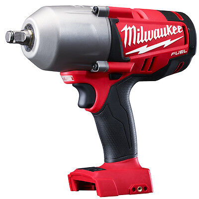 "Milwaukee 2763-20 M18 FUEL 18V 1/2"" High-Torque Impact Wrench - Bare Tool"
