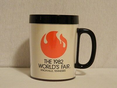Vtg 1982 Worlds Fair Knoxville Tenn Thermo Insulated Coffee Mug