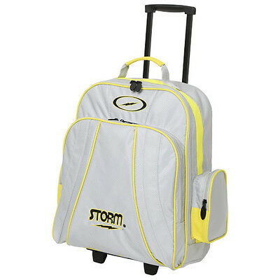 Storm Rascal 1 Ball Roller Bowling Bag Yellow Silver 5 Year Warranty!