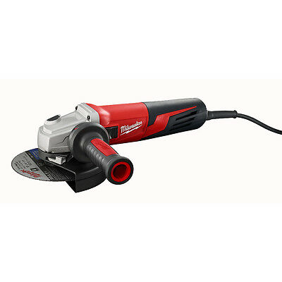 Milwaukee 6161-33 120V AC 13 Amp 6-Inch Small Angle Grinder Slide Lock-On