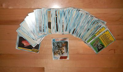 1980 Topps Star Wars Empire Strikes Back Series 1 & 2  Complete 264 Card Set EX
