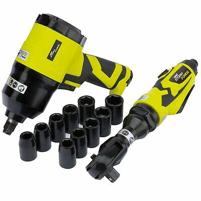 "Draper Storm Force Composite 1/2"" Air Ratchet And Impact Wrench Work Kit -"