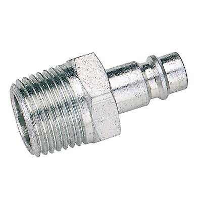"Draper Tools 1/2"" BSP Male Nut PCL Euro Coupling Adaptor (Sold Loose) -"