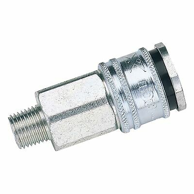 "Draper Tools Euro Coupling Male Thread 1/2"" BSP Parallel (Sold Loose) - 54406"
