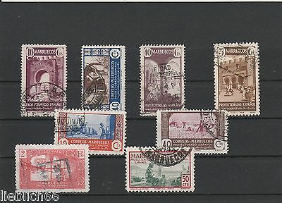 Marruecos and other postmarked Lot H 3776