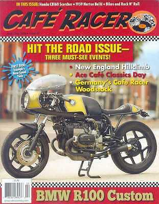 CAFE RACER USA No.45 J-July 2016 (NEW COPY) *Post included to UK/Europe/USA