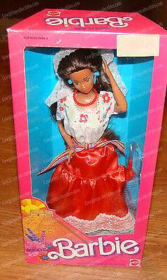 Mexican BARBIE Doll (1988) Dolls of the World Collection (Mattel, 1917)