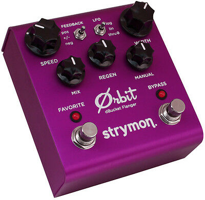 Strymon Orbit dBucket Flanger Effektpedal Effectpedal Made in USA