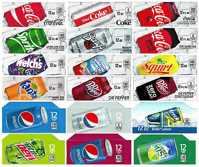 18x Flavor Strip For 12 oz Cans Soda Pepsi Coke Vending, fits Dixie Narco, Vendo