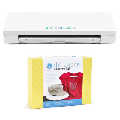 New Silhouette Cameo Electronic Cutting Tool with Rhinestone Starter Kit