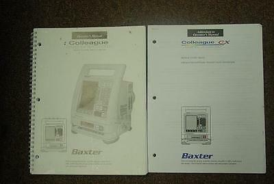 Baxter Colleague Infusion Pump New Operator's Manual
