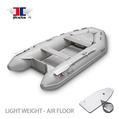 """270H-TS (9' 0"""") INMAR Inflatable Boat - Air Floor Tender -Yacht, Dingy, Sailing"""