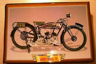 James Model 12 Vintage Classic Motorcycle Bike 1920's Picture 1925 500 V Twin