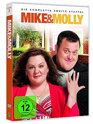 3 DVD-Box ° Mike & Molly ° Staffel 2 ° NEU & OVP