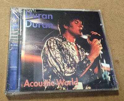 DURAN DURAN - Acoustic World  - CD LIVE RARO - SIAE ITALIA  MINT!!!!!!! SEALED