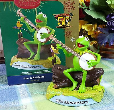 Carlton Kermit Anniversary ornament RAinbow Connection 2006