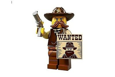LEGO 71008 MINIFIGURES Series 13 Sheriff  with unused code