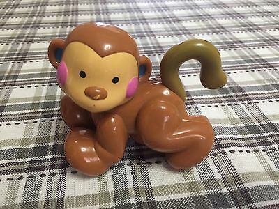 Fisher Price Amazing Animals Small Monkey Replacement Toy Guc